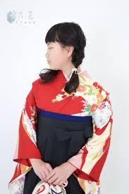レンタルきもの 卒業式袴コーディネート 小学生袴サイズもございます