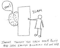 Saatchi Art Open door policy Drawing by Anita McNamee