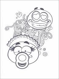 Kleurplaat Emojis Emoticons Emoties 30