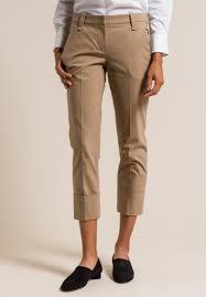 Brunello Cucinelli Size Chart Brunello Cucinelli Slim Pocket Cuffed Pant In Dark Sand