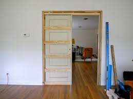 Perfect Pocket Door How To Build A I Throughout Modern Design