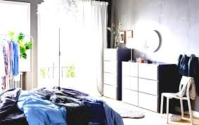 ikea bedroom ideas blue. A Blue Grey And White Bedroom With Two Visthus Chest Of Drawers Furniture Ideas Ikea Ireland O