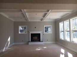 coffer ceiling color agreeable gray