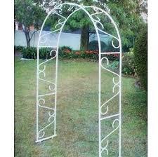wrought iron garden arch outdoor trellis gate