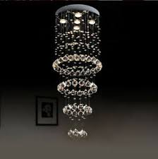 New <b>LED Modern K9</b> Clear Crystal Ceiling Light Pendant Lamp ...