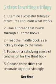 how to write a book trilogy 5 steps now novel 2 how to write a book trilogy plan a th that builds through all three books