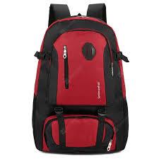 <b>Men's</b> Outdoor Mountaineering <b>Bag Waterproof Nylon Backpack</b> ...