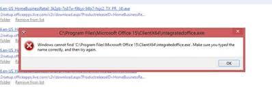 Dellution Error Installing Office 2013 From Oem Link