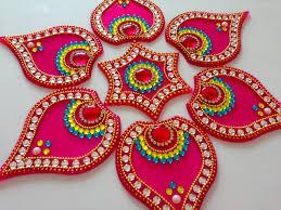 Kundan Rangoli Designs Small How To Make Acrylic Rangoli Diy Kundan Rangoli Rangoli