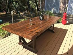 medium size of large outdoor dining table plans wooden free nz seats architectures gorgeous ou woodworking
