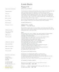 Examples Of Nanny Resumes Stunning Sample Resume Nanny Resumes For Nanny Samples Best Of Sample Resume