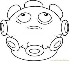 Coloring Book Plants Vs Zombies Coloring Page Free Printable Pages