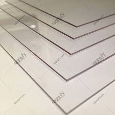acriform acrylic sheet clear or white
