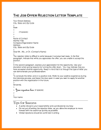 9 Candidate Rejection Letter Sample Example Of Memo