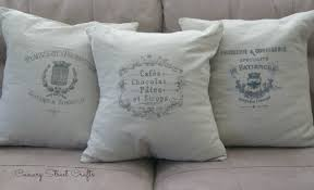Grain Sack Pillow Covers