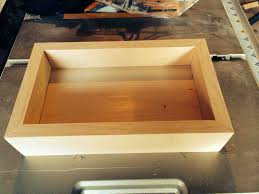 build a wooden tray