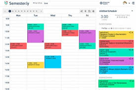 College Class Scheduler Course Registration Just Got Easier With This App Developed By
