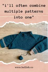Make Your Own Sweater Design Create Your Own Custom Sweater Knitting Pattern With Bellish