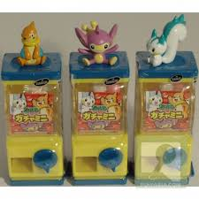 Pokemon Mini Vending Machine Gorgeous Nine Over Ten 4848 Gashapon Highlights Pokemon Capsule Toys And