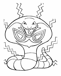 Small Picture Pokemon The Evil Snake Coloring Pages SNAKES EWWWWWWWWWWW