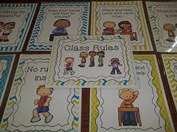 Organizational Chart For Daycare Center 9 Laminated Class Rules Teacher Classroom Signs 8 5 Inches