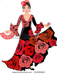 Image result for flamenco dancer clipart