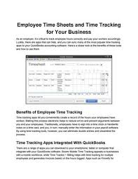Track Hours Worked App Employee Time Sheets And Time Tracking For Your Business