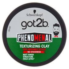 <b>Schwarzkopf Got2b Phenomenal</b> Texturising Clay 100Ml - Tesco ...