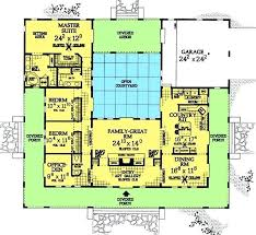 l shaped house plans. u shaped house plan plans with central courtyard change left wing to 2 l