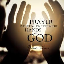 Prayer Quotes Custom Prayer Quotes Prayer Is Putting Oneself In The Hands Of God
