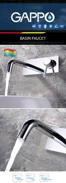 Großhandel Gappo Duscharmaturen Verdeckte Thermostat Badezimmer Dusche Wasserhahn Wasserfall Wand Regendusche Set Bad Wasserhahn Montiert Von Sojo