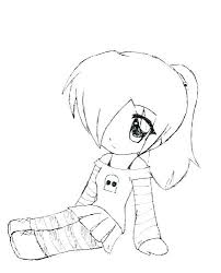 Anime Cute Coloring Pages Anime Animal Girl Coloring Pages Coloring