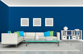 Orange And Blue Living Room Decor Living Rooms With Blue Walls Living Room Design Ideas Orange And