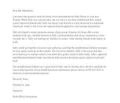 Letter Of Recommendation Teacher Letter Of Recommendation Template For Teacher Vivafashion Info