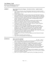 Best User Interface Designer Resume On Ui Designer Resumes