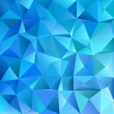 Blue Pattern Background Extraordinary Blue Geometric Abstract Chaotic Triangle Pattern Background Mosaic