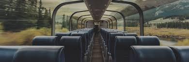 Cars On The Toronto Vancouver Train Via Rail