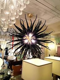 blown glass chandelier chihuly black glass chandelier dale dale chihuly blown glass chandelier