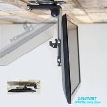 tv hangers. foldable car ceiling 14-40 inch screen led lcd monitor holder tv mount hanger wall tv hangers
