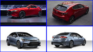 2020 Toyota Corolla Versus 2019 Mazda Mazda3 How Do They