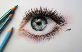 Drawingcolor Realistic Eye Drawing Time Lapse Youtube