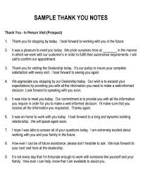 7 Sample Thank You Notes For Meeting 7 Examples In Word Pdf
