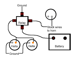 horn relay wiring diagram horn image wiring diagram horn quit working jeep cj forums on horn relay wiring diagram