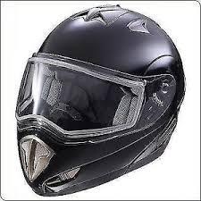 Details About New 286117006 Polaris Snowmobile Modular Helmet Black Large 2861170