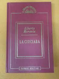 book Libro LA CIOCIARA Alberto Moravia 1994 fabbri GRANDE BIBLIOTECA (L86)