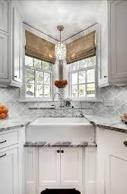 20 Best Corner Kitchen Sink Designs For 2021 Pros Cons Decor Home Ideas Small Kitchen Layouts Kitchen Sink Design Farmhouse Sink Kitchen