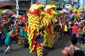 Kediri, kompas.tv setiap perayaan imlek selalu idientik dengan pertunjukan barongsai. Karnaval Budaya Dan Barongsai Cap Go Meh Di Pontianak Antara News Kalimantan Barat