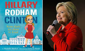 hillary clinton is heralded as a power icon in a new children s picture book daily mail