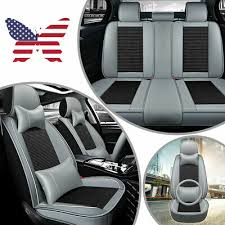 5d luxury car seats cover pu leather