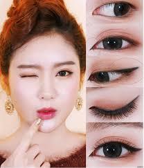 asian cat eye makeup tutorial step by step diy